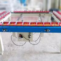 1215B机械式拉网机 气动绷网机 丝网版张网机 精密拉网机