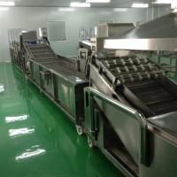冠浩4000果蔬清洗加工设备  清洗流水线.