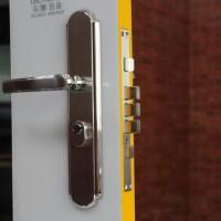 乐朗RXL-06-03不锈钢304入户门防盗锁室内门锁机械锁豪华冲压面板锁