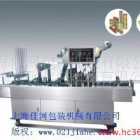 上海佳河厂家生产餐盒流水线两封一切自动封口机 快餐流水线封口机 封口机械