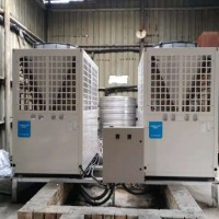 20匹超低温空气能热泵供暖机组,宁夏地区煤改电供暖专业机组