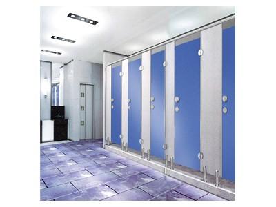 富滋雅卫生间隔断加厚二代抗倍特密度板公共厕所专用材料防潮
