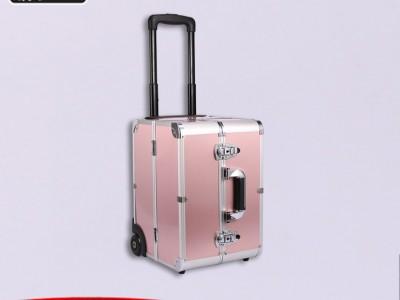 铝合金化妆箱大号美容工具箱多层旅行箱批发