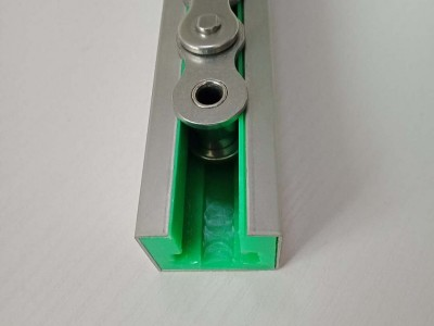 福建供应  定做工业尼龙链条导轨 流水线塑料导轨