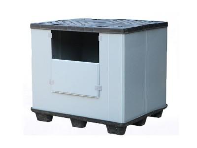 物流围板箱塑料板厂家直销PP板中空板周转物流箱PP瓦楞板