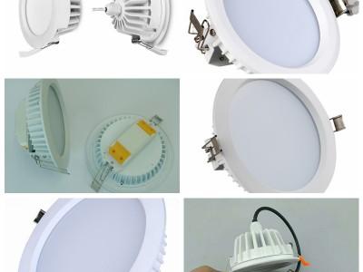 LED筒灯6000K白光4000K中性光3000K暖光