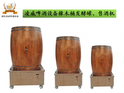 橡木桶发酵罐家庭自酿啤酒扎啤保鲜罐精酿小型售酒机