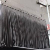 输送设备耐磨橡胶防尘帘 可定制导料槽橡胶挡尘帘