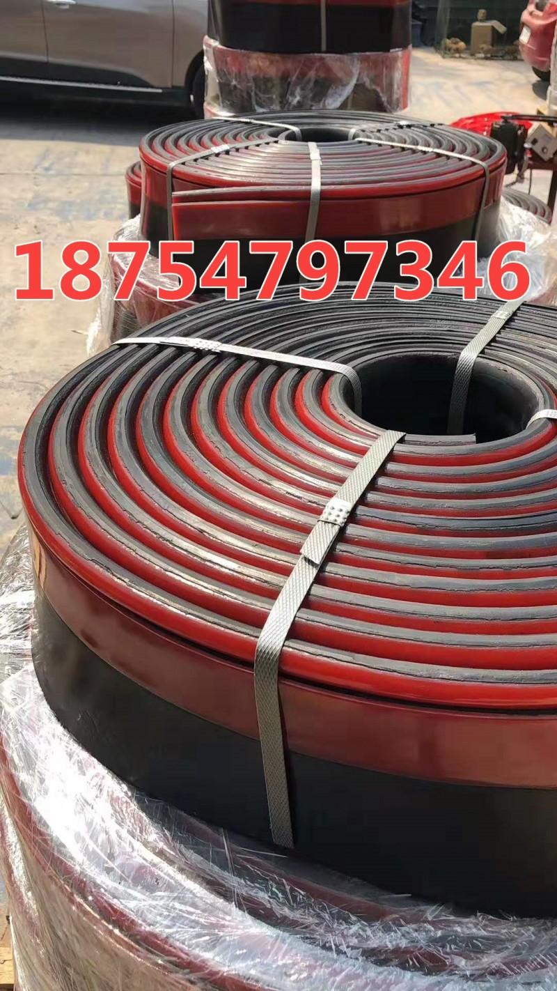 电厂煤矿专用防溢裙板 导料槽双层挡煤皮 聚氨酯挡板
