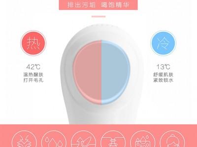 冷热美容仪器家用脸部导入美容仪导出洁面仪多功能冷热仪护肤神器