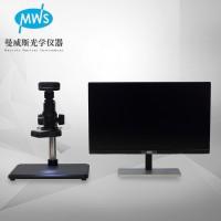 厂家直供高清像素输出视频显微镜 可拍照测量显微镜