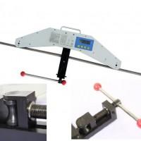 钢索钢丝绳张紧力检测装置 手持测力计 200KN张力仪