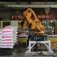 国产袋料卸垛机器人 袋装饲料自动拆垛机