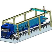 全自动水泥装卸设备 袋装化肥全自动装车机