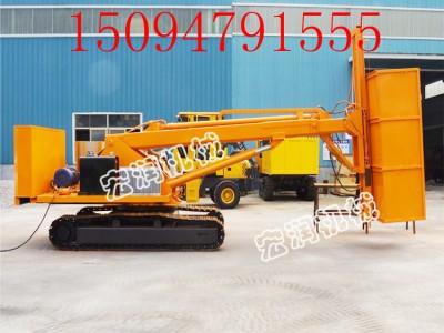 厂家可定制履带式深坑打桩机 地基护坡锚固钻机价格