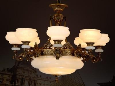 全铜灯 全铜吊灯 欧式铜灯 纯铜灯具