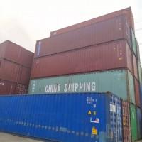 天津二手集装箱 全新集装箱 海运箱 SOC出口箱销售