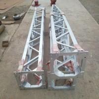 格构式铝合金扒杆独立内悬浮抱杆立杆铝合金格构式管式人字抱杆
