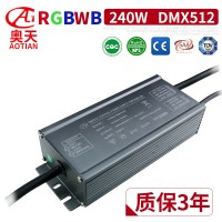 200W户外亮化RGB/RGBW,RDM/DMX控制解码电源