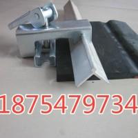 防溢裙板夹持器生产 全不锈钢夹持器 导料槽挡煤皮压条组