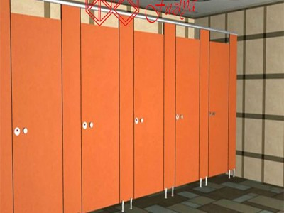 富滋雅公共卫浴隔断厕所隔断门板防潮密度板隔断墙
