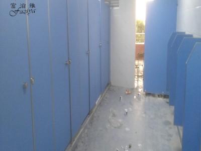 富滋雅洗手间隔断更衣室隔断门板防潮抗倍特板隔断