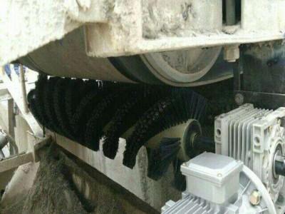 电动毛刷清扫器B1200 输送机清扫器