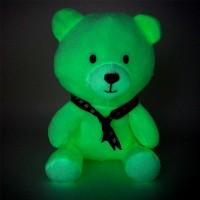 想定制儿童节礼物吗?看看这款呆萌坐姿小熊夜光毛绒玩具!