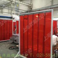 生产防弧光门帘,防电焊光门帘
