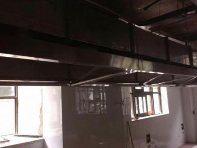 南京商用厨房排油烟风机 油烟净化器 燃气管道芜湖一翔