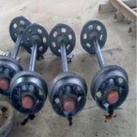 直径350矿车轮子 实心矿车轮子 300/600矿车轮对