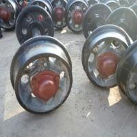 煤矿封闭式矿车轮对 600轨距铸钢铸铁矿车轮对 矿车配件